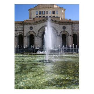 Armenian Capital Postcard