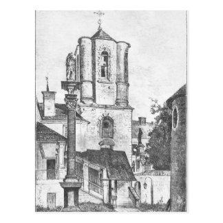 Armenian Cathedral by Jan Matejko Postcard