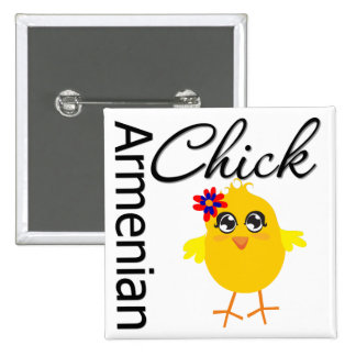 Armenian Chick Button