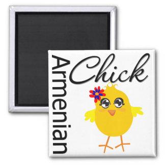 Armenian Chick Fridge Magnet
