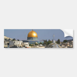 Armenian Church and the Dome of the Rock Bumper Sticker