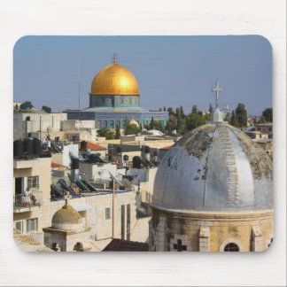 Armenian Church and the Dome of the Rock Mouse Pad