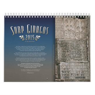 Armenian Church Calendar 2015