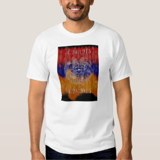 Armenian Coat of Arms 100 Years Stronger T-shirt