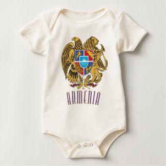Armenian Coat of Arms Baby Bodysuit