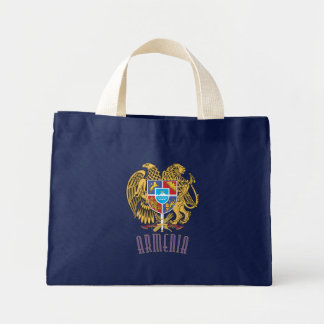 Armenian Coat of Arms Canvas Bags
