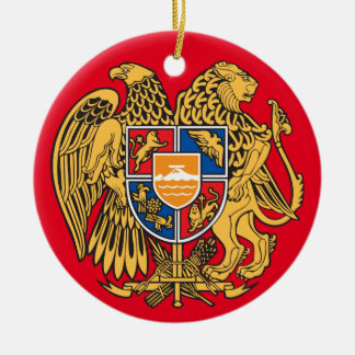 Armenian* Crest Christmas Ornament