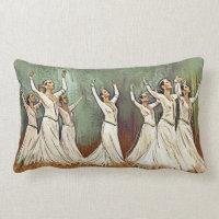 Armenian Dancers Pillow
