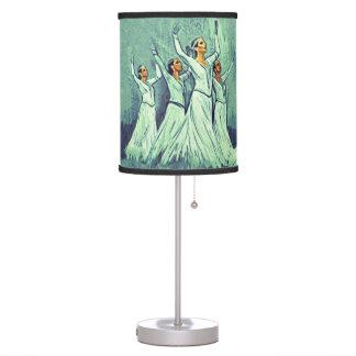 Armenian Dancers Table Lamp 2