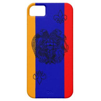 Armenian Flag Case (black outline) iPhone 5 Case