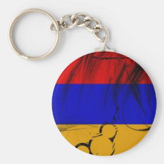 Armenian Flag Keychain
