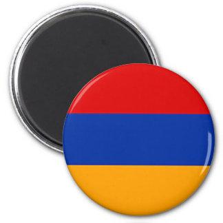 Armenian flag fridge magnet