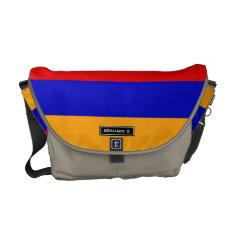 Armenian Flag Messenger Bag at Zazzle