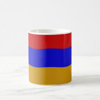 Armenian flag coffee mugs