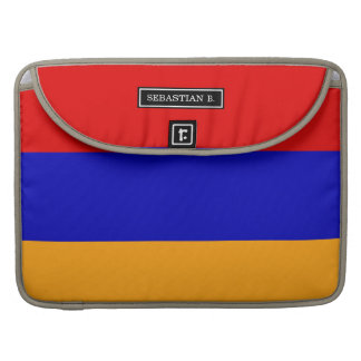 Armenian Flag Sleeve For MacBook Pro