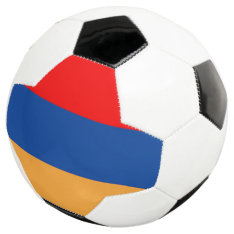 Armenian Flag Soccer Ball at Zazzle