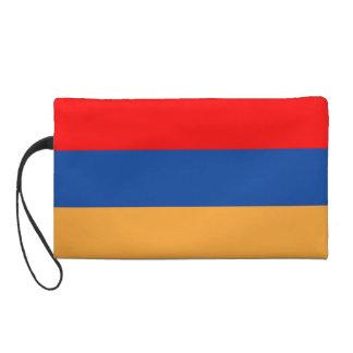 Armenian Flag Wristlet