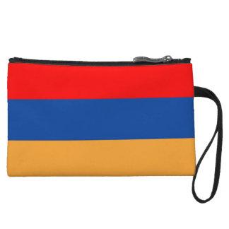 Armenian Flag Wristlet Wallet