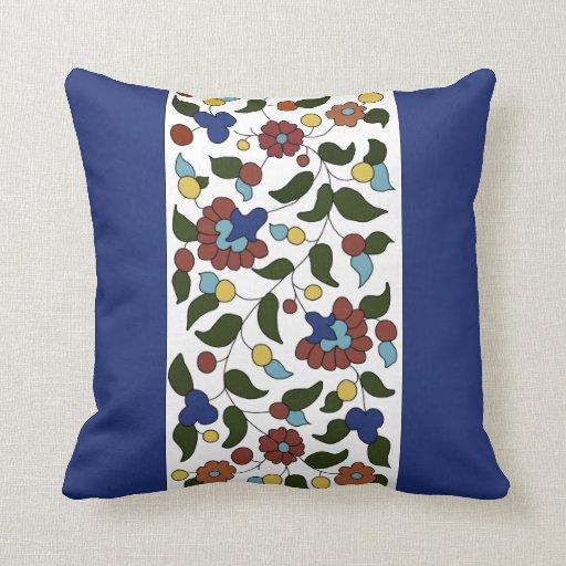 Armenian floral pattern - large print throw pillows Zazzle