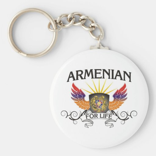 Armenian For Life Key Chains