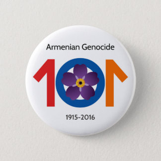 Armenian Genocide 101 Years Commemorative Button
