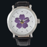 """Armenian Genocide Black Leather Strap Watch<br><div class=""""desc"""">Every year on April 24 Armenians around the world commemorate the victims of the Armenian Genocide. April 24 of 1915 is the day when thousands of the Armenian community leaders of Constantinople (now Istanbul) were deported and mostly executed.</div>"""