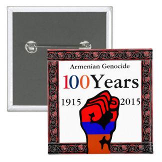 Armenian Genocide Button