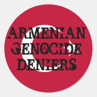 Armenian Genocide Deniers Sticker