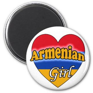 Armenian Girl Refrigerator Magnet