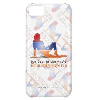 Armenian Girl Silhouette Flag iPhone 5C Covers