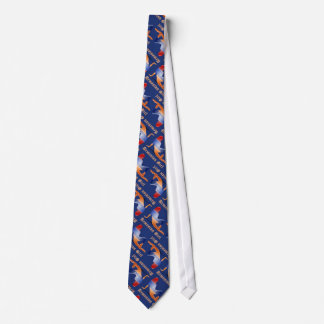 Armenian Girl Silhouette Flag Neck Tie