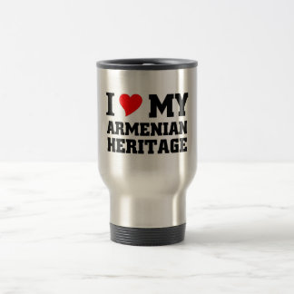 Armenian Heritage 15 Oz Stainless Steel Travel Mug