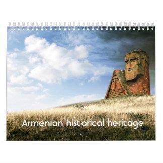 Armenian historical heritage - Calendar