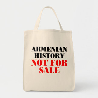 Armenian history: Not for sale Canvas Bag