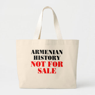 Armenian history: Not for sale Tote Bags