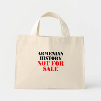 Armenian history: Not for sale Canvas Bags