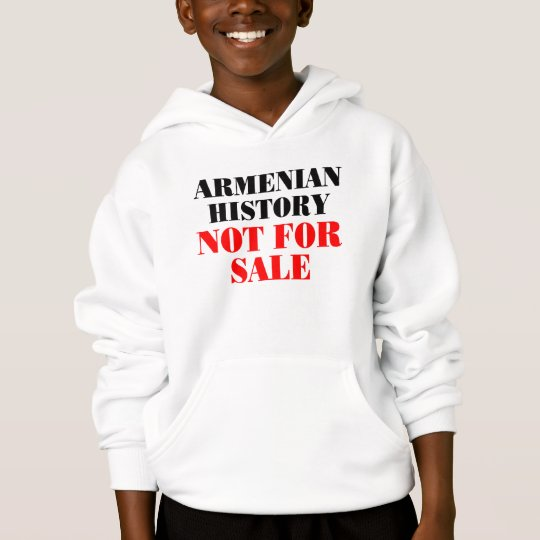 Armenian history: Not for sale Hoodie
