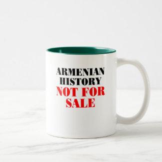 Armenian history: Not for sale Two-Tone Coffee Mug