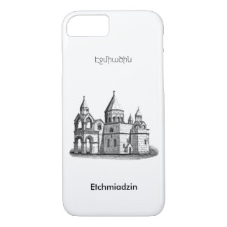 Armenian Holy Etchmiadzin Cathedral iPhone Case