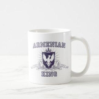 Armenian King Classic White Coffee Mug