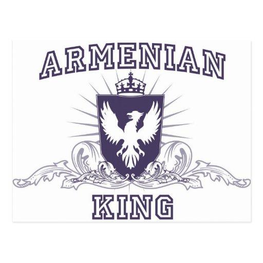 Armenian King Postcard