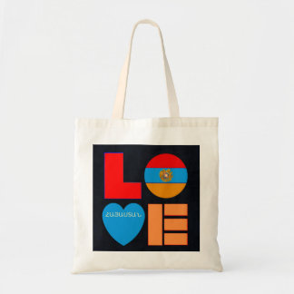 Armenian LOVE Budget Tote