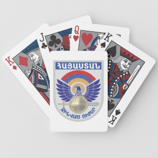 Armenian Military Seal Bicycle Playing Cards