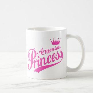 Armenian Princess Classic White Coffee Mug