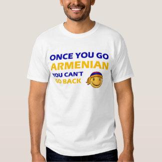Armenian Smiley Designs Tee Shirt