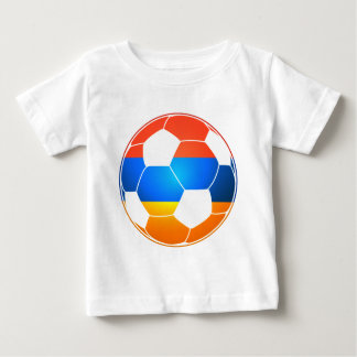 Armenian Soccer Ball Baby T-Shirt