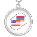 Armenio del americano del nacimiento por la opción colgante redondo