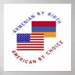 Armenio por el nacimiento, americano por la opción poster