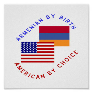 Armenio por el nacimiento, americano por la opción póster