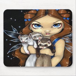 """""""Armful of Ferrets"""" Mousepad"""